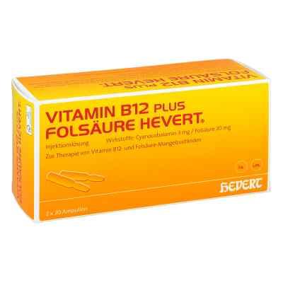 Vitamin B12 plus Folsäure Hevert [a-akut] 2 ml Amp  bei apo-discounter.de bestellen