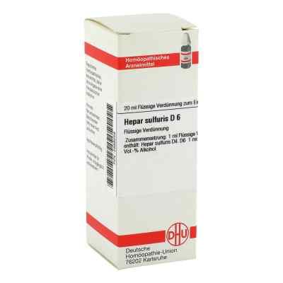 Hepar Sulfuris D 6 Dilution