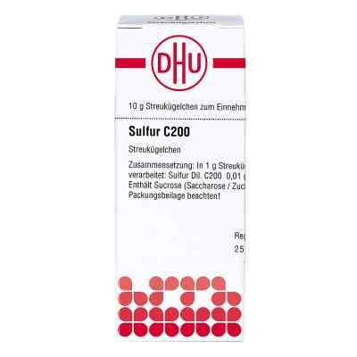 Sulfur C 200 Globuli  bei apo-discounter.de bestellen