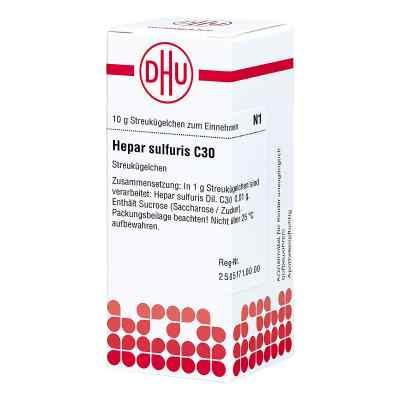 Hepar Sulfuris C 30 Globuli  bei apo-discounter.de bestellen