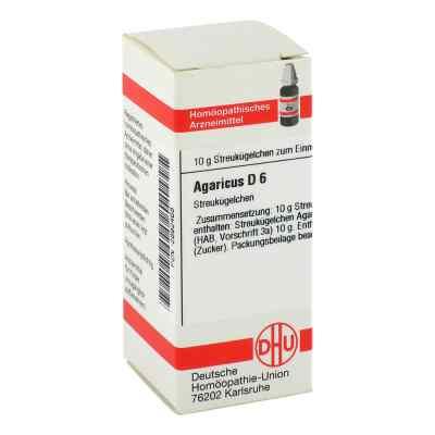 Agaricus D 6 Globuli  bei apo-discounter.de bestellen