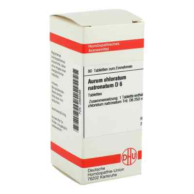 Aurum Chloratum Natronatum D6 Tabletten  bei apo-discounter.de bestellen