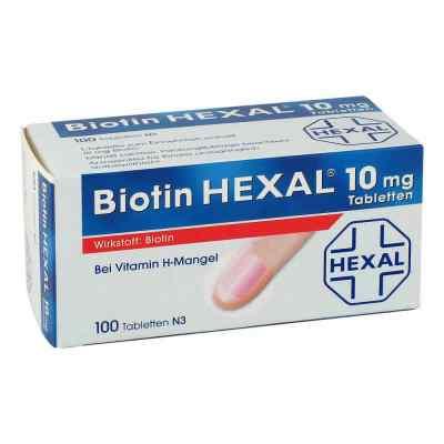 Biotin Hexal 10 mg Tabletten  bei bioapotheke.de bestellen