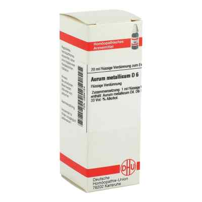 Aurum Metallicum D6 Dilution  bei apo-discounter.de bestellen