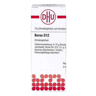 Borax D 12 Globuli  bei apo-discounter.de bestellen