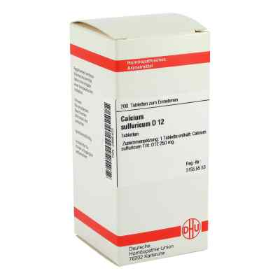 Calcium Sulfuricum D12 Tabletten  bei apo-discounter.de bestellen