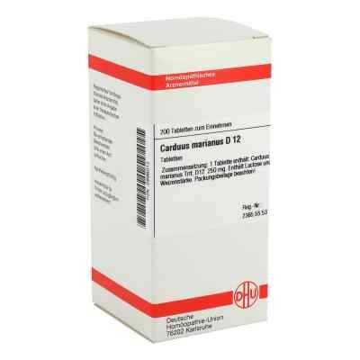 Carduus Marianus D12 Tabletten  bei apo-discounter.de bestellen