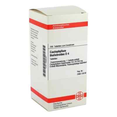 Caulophyllum Thalictroides D4 Tabletten  bei apo-discounter.de bestellen