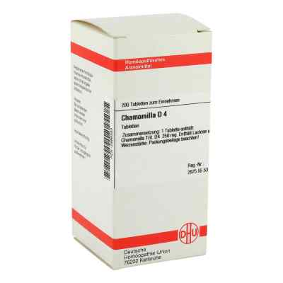 Chamomilla D4 Tabletten  bei apo-discounter.de bestellen