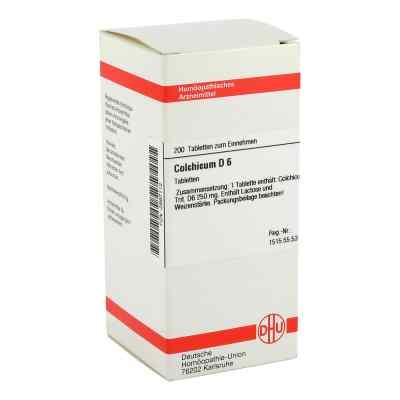 Colchicum D6 Tabletten  bei apo-discounter.de bestellen