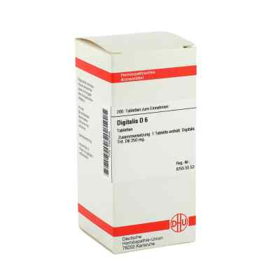 Digitalis D6 Tabletten  bei apo-discounter.de bestellen