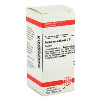 Fucus Vesiculosus D 6 Tabletten