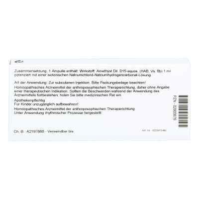 Amethyst D15 Ampullen  bei apo-discounter.de bestellen