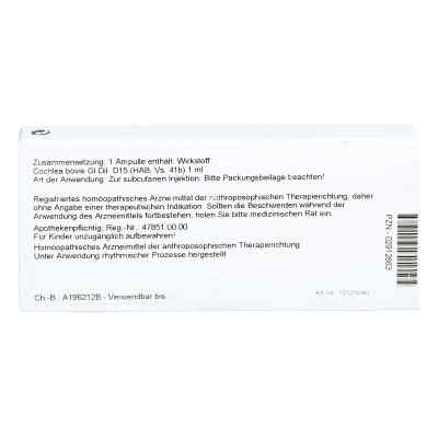 Cochlea Gl D15 Ampullen  bei apo-discounter.de bestellen