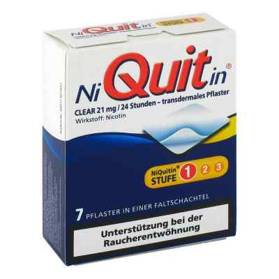 Niquitin Clear 21 mg transdermale Pflaster  bei apo-discounter.de bestellen