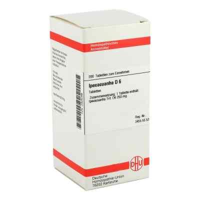 Ipecacuanha D6 Tabletten  bei apo-discounter.de bestellen