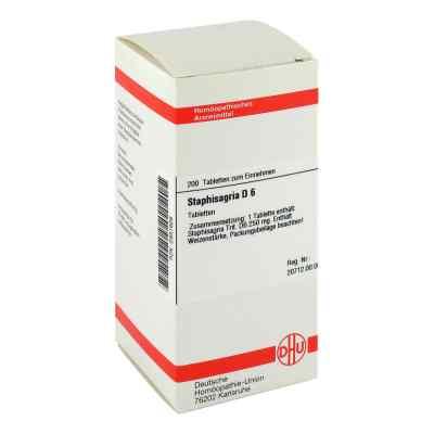 Staphisagria D6 Tabletten  bei apo-discounter.de bestellen