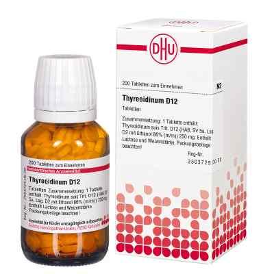 Thyreoidinum D12 Tabletten  bei apo-discounter.de bestellen