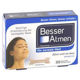 Besser Atmen Nasenstrips beige normale Grösse
