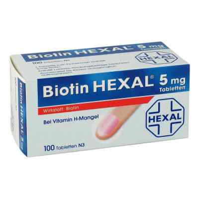Biotin Hexal 5 mg Tabletten  bei apo-discounter.de bestellen