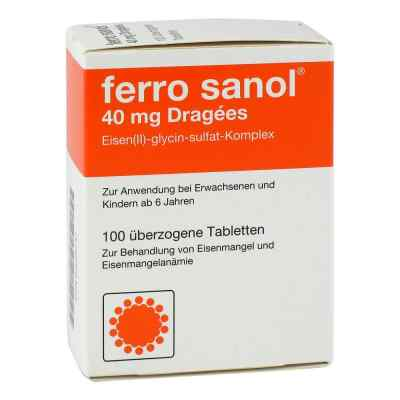 Ferro sanol 40mg Dragees  bei apo-discounter.de bestellen