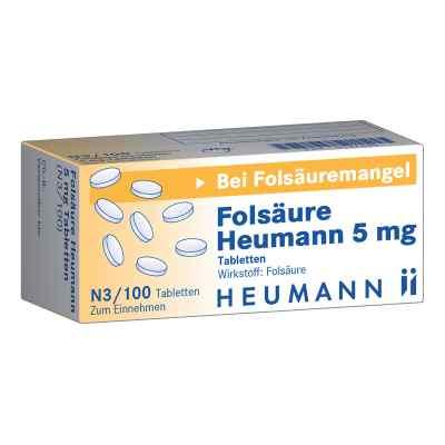 Folsäure Heumann 5 mg Tabletten  bei apo-discounter.de bestellen