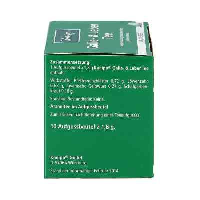 Kneipp Tee Galle und Leber Filterbeutel  bei apo-discounter.de bestellen