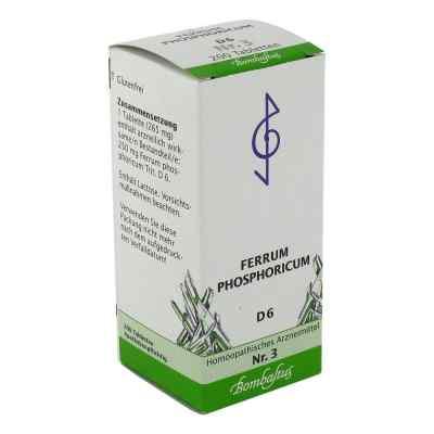 Biochemie 3 Ferrum phosphoricum D6 Tabletten  bei apo-discounter.de bestellen