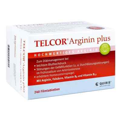 Telcor Arginin plus Filmtabletten  bei bioapotheke.de bestellen