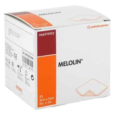 Melolin 5x5cm Wundauflagen steril