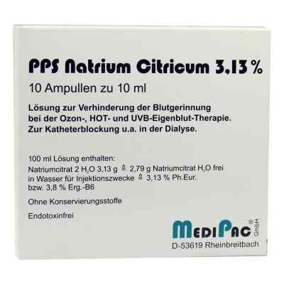 Natriumcitrat 3,13% Ampullen  bei apo-discounter.de bestellen