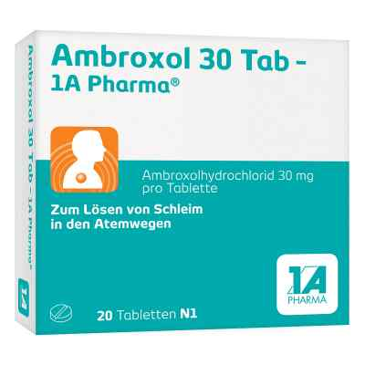 Ambroxol 30 Tab-1A Pharma  bei apo-discounter.de bestellen