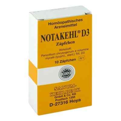 Notakehl D3 Suppositorien  bei apo-discounter.de bestellen
