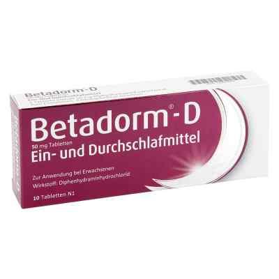 Betadorm-D  bei apo-discounter.de bestellen