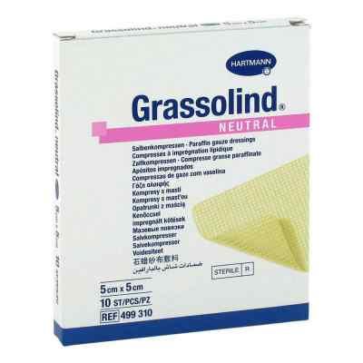Grassolind Salbenkompressen Neutral 5x5 cm steril  bei apo-discounter.de bestellen