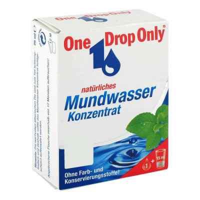 One Drop Only natürl.Mundwasser Konzentrat