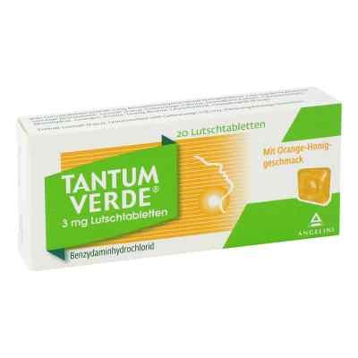 Tantum Verde 3 mg Lutschtabletten Orange-Honiggeschmack  bei apo-discounter.de bestellen