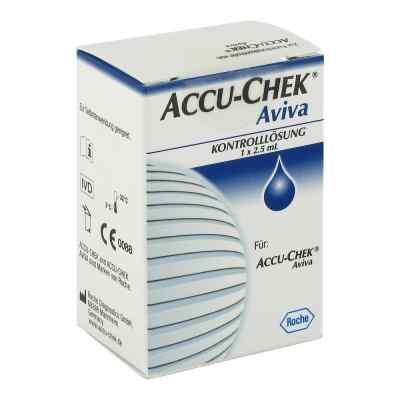 Accu Chek Aviva Kontroll Lösung