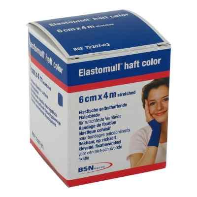 Elastomull haft 4mx6cm 72207-03 blau Fixierbinde   bei apo-discounter.de bestellen