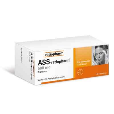 ASS-ratiopharm 500mg  bei bioapotheke.de bestellen