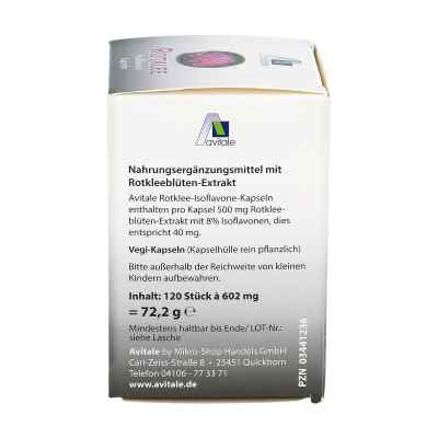 Rotklee Kapseln 500 mg  bei apo-discounter.de bestellen