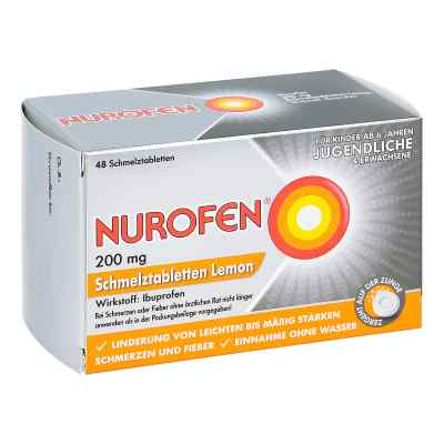 Nurofen 200 mg Schmelztabletten Lemon bei Kopfschmerzen  bei apo-discounter.de bestellen