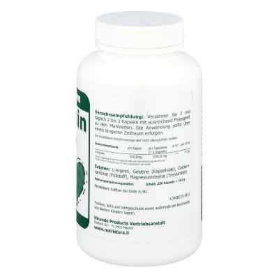L-arginin 500 mg Kapseln  bei apo-discounter.de bestellen
