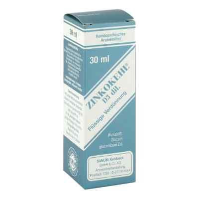Zinkokehl Tropfen D3 30 ml von SANUM-KEHLBECK GmbH & Co. KG PZN 03483737