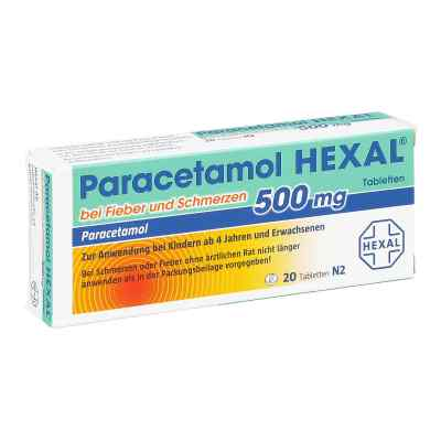 Paracetamol 500mg HEXAL bei Fieber und Schmerzen  bei apo-discounter.de bestellen