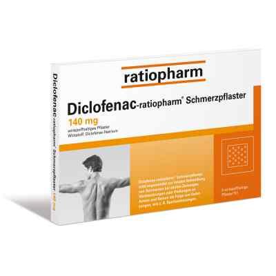 Diclofenac-ratiopharm Schmerzpflaster 140mg  bei apo-discounter.de bestellen