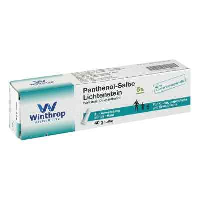 Panthenol-Salbe Lichtenstein