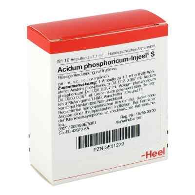 Acidum Phosphoricum Injeel S Ampullen  bei apo-discounter.de bestellen