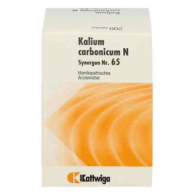 Synergon 65 Kalium carb. N Tabletten  bei apo-discounter.de bestellen