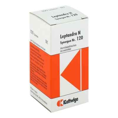 Synergon 120 Leptandra N Tabletten  bei apo-discounter.de bestellen